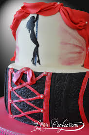 pole dancing bachelorette party cake emi ponce de souza