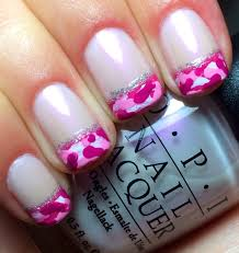 pink camouflage nail design choice image nail art designs