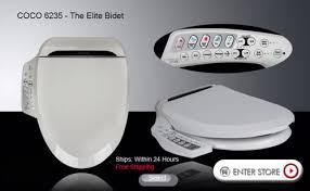 Seat Bidet Coco 6235 Bidet Toilet Seat Coco Bidet