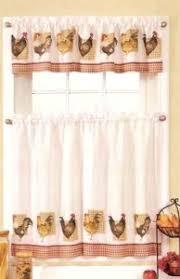 new sets chicken rooster kitchen curtains u0026 valances kitchen