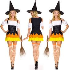 661 Best Witches Images On Pinterest Halloween Witches Cute Halloween Witch Costume For Women Candy Corn Style Cool