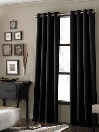 Bedroom Window Curtains Curtains Black Window Curtains Inspiration Treatment Ideas For The