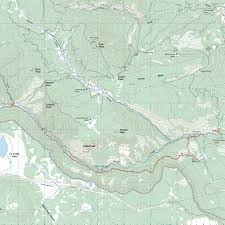 Philmont Scout Ranch Map Route From Fish Camp To Abreu