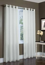 Voiles For Patio Doors by Rhapsody Lined Grommet Top Curtain Thermavoile Panel European