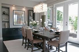 Contemporary Crystal Dining Room Chandeliers Home Design Ideas - Crystal dining room
