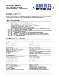 sample job objective for resume resume career objective resume