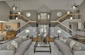 gray living room furniture ideas with green accents rustic grey