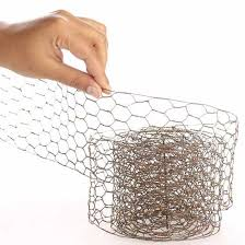 rustic chicken wire ribbon wire rope string basic craft