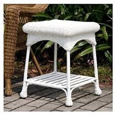 Amazoncom  Wicker Lane OTID Outdoor Black Wicker Patio - Outdoor white wicker furniture