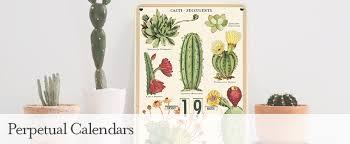 cavallini calendars cavallini co perpetual calendars