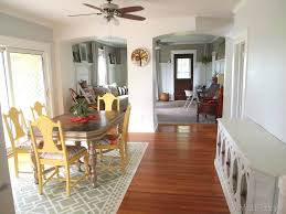 Ceiling Fans For Dining Rooms Paint U0026 Trim Updates Dining Room Reality Daydream