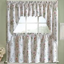 Interior Soho Double Sears Curtain by Charming Design Kitchen Curtains And Valances Creative Inspiration