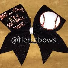 softball bows shop softball bows on wanelo