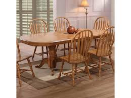 Double Pedestal Dining Room Tables E C I Furniture Dining Solid Oak Double Pedestal Dining Table