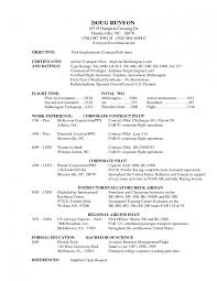 example of cook resume free resume sample templates inspiration decoration pilot resume badak commercial sample template download 33 pilot resume template