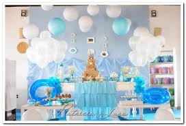 the sea baby shower decorations kara s party ideas mermaid the sea party planning ideas