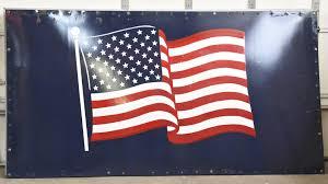 Ssp Flags American Flag Harvester Silo Sign Ssp 107x57 J50 Indy 2016