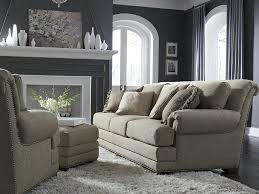 King Hickory Sofa Reviews by King Hickory Living Room Barclay Fabric Sofa 4600 Hickory