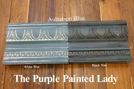 the purple painted lady two coats of aubusson blue chalk paint