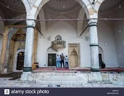 Gazi Wood Furniture Gazi Husrev Beg Mosque In Sarajevo Stock Photos U0026 Gazi Husrev Beg