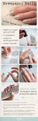 newspaper nails this is so cool gonna have to try it craft