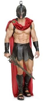 costumes for men spartan warrior costume men candy apple costumes
