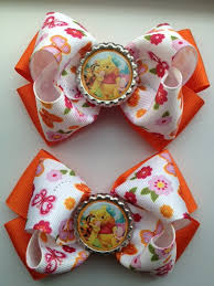 hair bows for winnie the pooh hair bows for family net