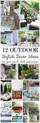 234 best outdoor decor ideas images on pinterest outdoor decor