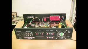 home theater with spdif input 5 1 amplifier optical inputs youtube