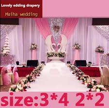 Curtain Drapes For Weddings Free Shipping Colorful Design Luxury Event Services Stage Curtain
