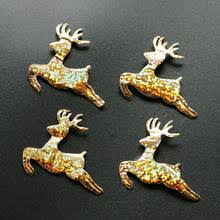 Gold Reindeer Christmas Tree Decorations by Online Get Cheap Gold Reindeer Decorations Aliexpress Com