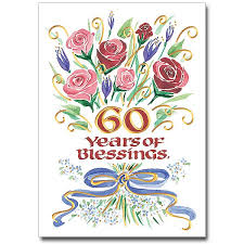 60th Anniversary Card Messages Anniversary Blessings The Printery House