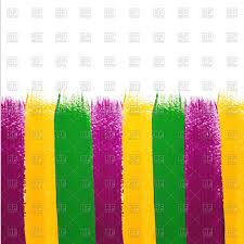 green mardi gras green violet and yellow watercolor brush strokes mardi gras