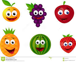 funny fruits and vegetables clipart clipartxtras