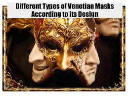 venetian masks types types of venetian masks according to its design
