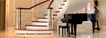 custom built curved staircases spiral stairs mi