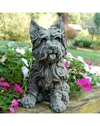 spectacular deal on westie terrier garden statue