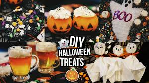 diy halloween treats glitterinmyhair youtube