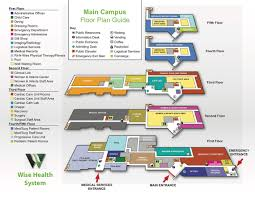 hospital floor plan wise health system