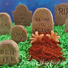 headstone sayings cookies n fudge tombstones add clever epitaphs to candy