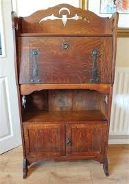 bureau writing desk arts and crafts bureau writing desk