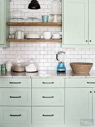 white kitchen cabinets with green countertops 80 cool kitchen cabinet paint color ideas