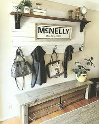 bench with storage and coat rack front door bench coat rack