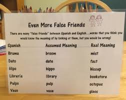 Patio Meaning In English Debbie U0027s Spanish Learning False Cognates In Language Learning