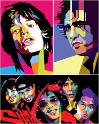 desain foto wedha s pop art portrait desain grafis indonesia 62944 on wookmark