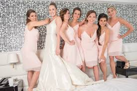 jim hjelm bridesmaids 7 things to remember when renting bridesmaid dresses styled by vow