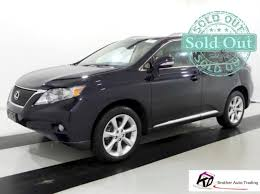 lexus 2010 black 2010 lexus rx 350 awd black clean title