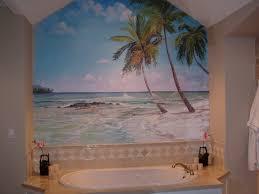 Bathroom Wall Mural Ideas Bathroom Murals Rose U0027s Bathroom Mural Kangas Murals Mural