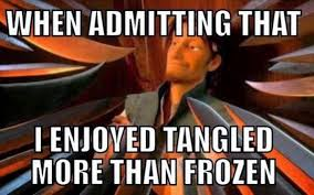 Tangled Meme - i love this post i love frozen as well as tangled