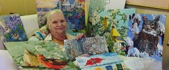 83 year old grandma creates beautiful paintings from her hospital bed